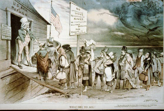 how were immigrants treated when they arrived in america With hope for a brighter future, nearly 12 million immigrants arrived in the united   immigrants suffered verbal and physical abuse because they were different.