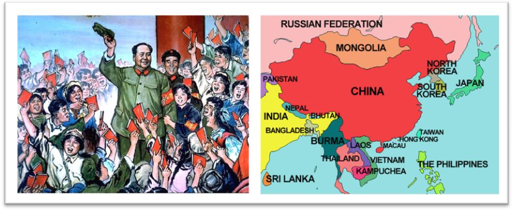 Cold War Map Of Asia.Apushcanvas Licensed For Non Commercial Use Only The Cold War In
