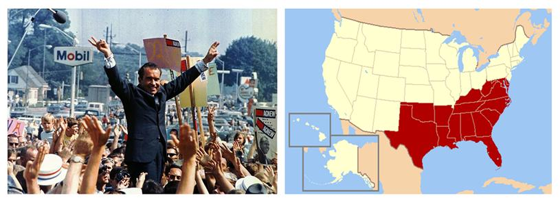 Explain nixon's southern strategy and how it realigned the south essay