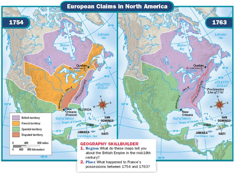 british north american colonies 1607 1763
