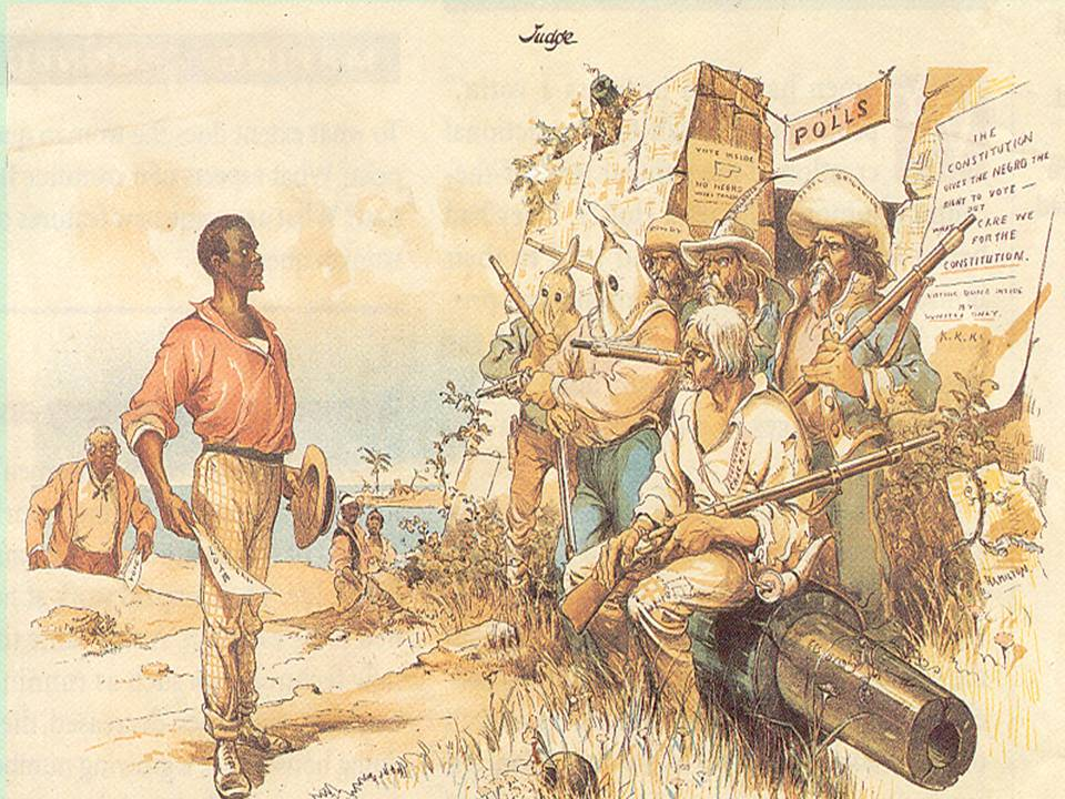 the changes in america during the reconstruction era Andrew johnson was the only southern senator to remain loyal to the union during reconstruction refers to the period this drawing of african american.