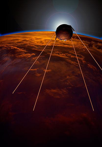 apushcanvas / Space Race Sputnik (1957)