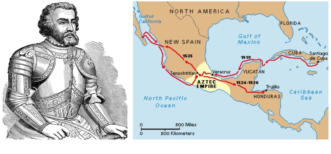 hernan cortes a spanish conquistador