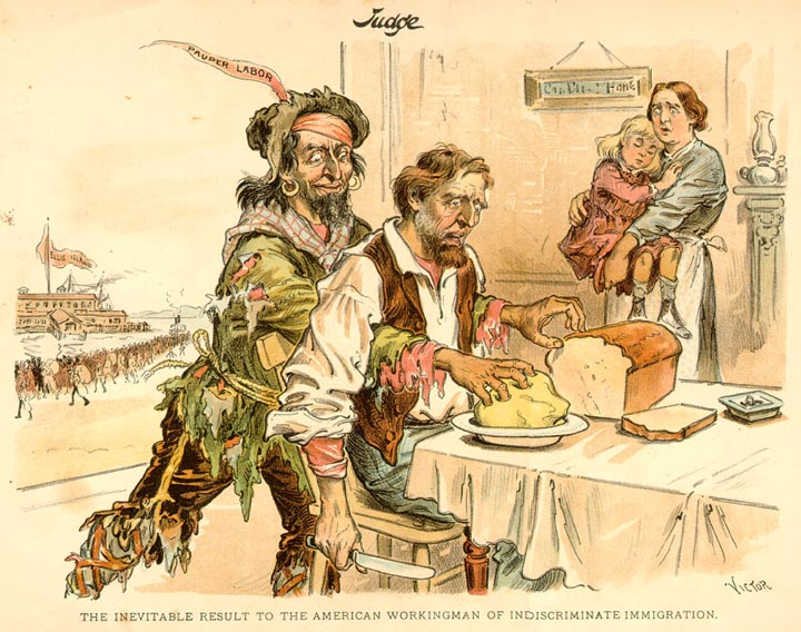 immigration and discrimination in american history Immigrant discrimination easy julian kszseszowski to friend on work in america, 1891 here they select workers just as they pick out beasts at the market in the old country, or as they do for the army - just as long as they are strong and healthy that is how they deal with people.